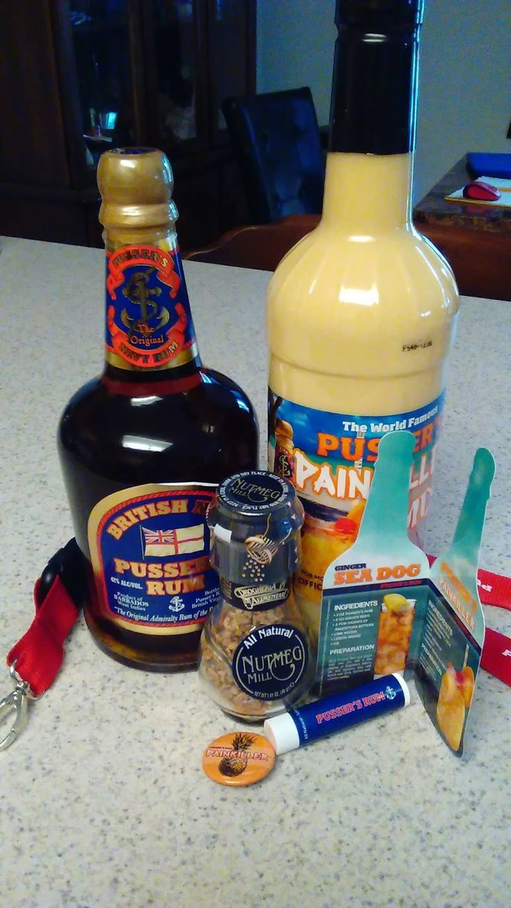 Hanging Off The Wire: Pusser's Rum Painkiller Recipe And #Giveaway