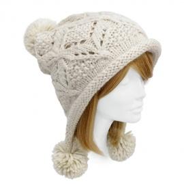 Snowball Knit Hat $18
