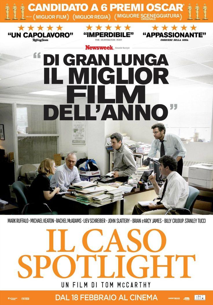 Il caso Spotlight, il film di Tom McCarthy con Michael Keaton, Mark Ruffalo e Rachel McAdams, dal 18 febbraio al cinema.