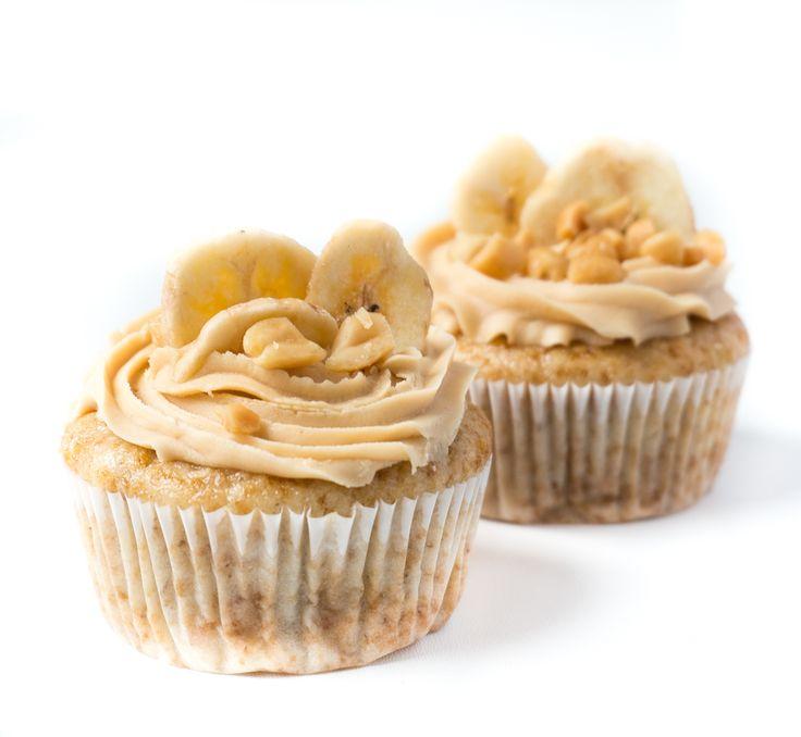 Vegane Banana-Split-Cupcakes | The Vegetarian Diaries