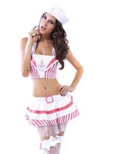 Sensual Seductive Uniform Temptation Sexy Costumes
