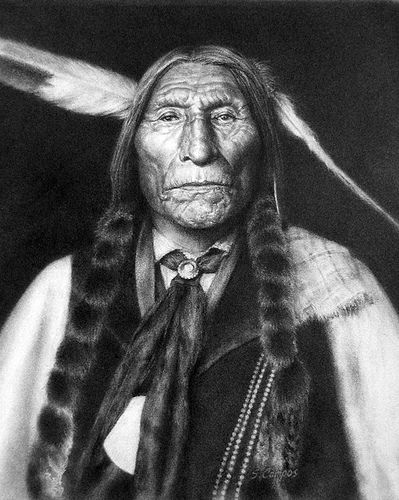 31/10/14 Wolf Robe, Tribe: Southern Cheyenne - Native American i plan to look for a native american portrait that i instantly feel a connection with then i plan to do some research into them and base my project around that one person. i will be meeting zoe this week in class and hopefully she will have a disk with photos for me