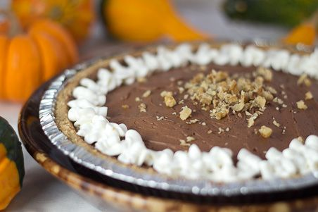 Easy and Elegant Chocolate French Silk Pie (great holiday or company dessert) from The Six O'Clock Scramble on @PBS Parents