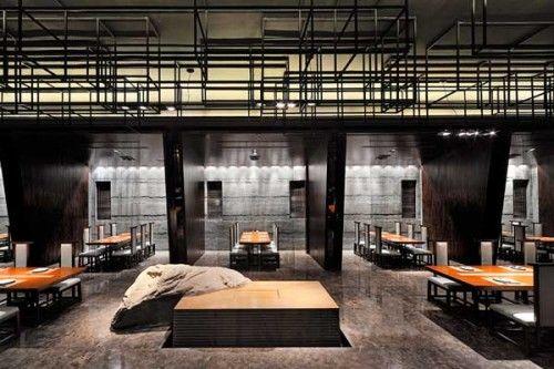 Restaurant Design: Haneda Japanese Restaurant by Kris Lin Interior Design