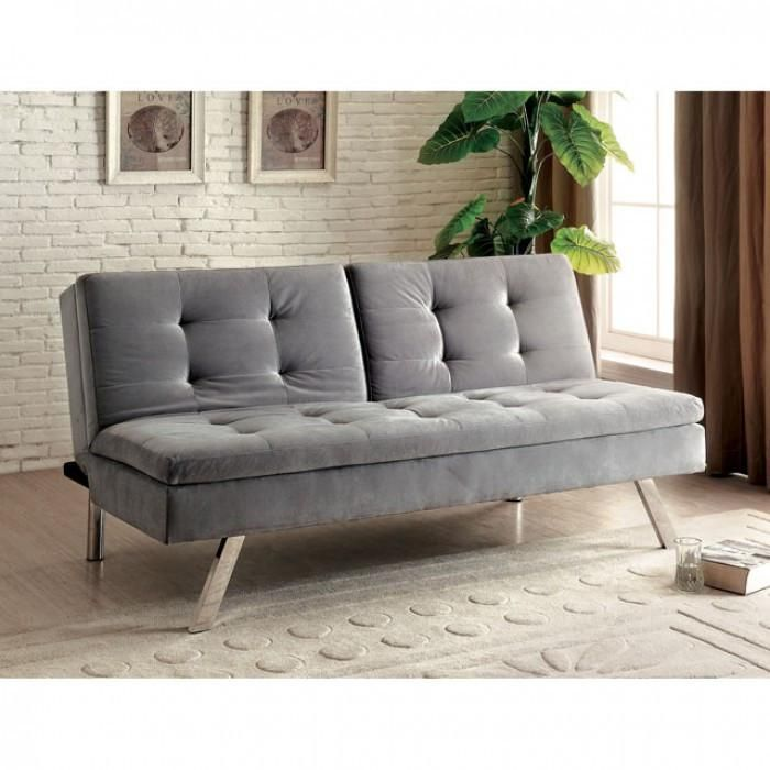 The Furniture of America Valier Futon gives you more than you could hope for in a piece of furniture. Las Vegas Furniture Online | LasVegasFurnitureOnline | Lasvegasfurnitureonline.com