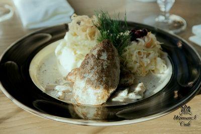 Куриные котлеты с грибным соусом | Женское кредо