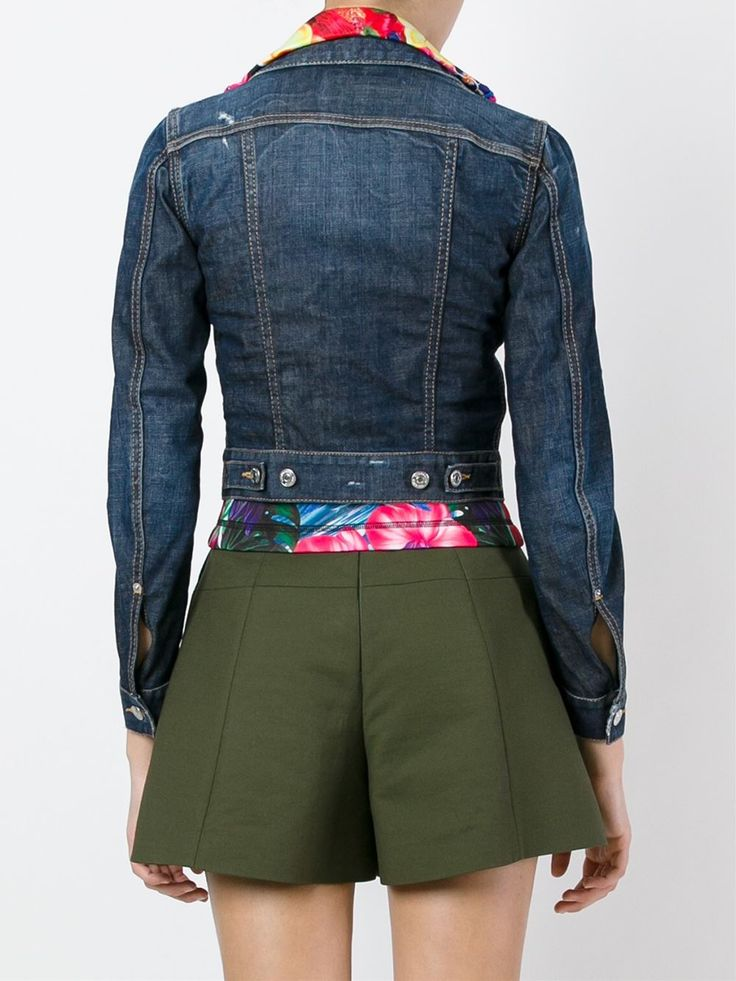Dsquared2 Jaqueta jeans
