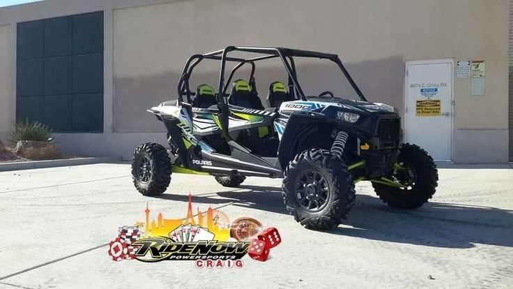 New 2017 Polaris RZR XP 4 1000 EPS White Lightning ATVs For Sale in Nevada. 2017 Polaris RZR XP 4 1000 EPS White Lightning, *** Price includes $2000 Polaris rebate ***<br /> <br /> 2017 Polaris® RZR XP® 4 1000 EPS White Lightning <p>Signature RZR XP® 4 1000 performance, with added capability to dominate the mud.</p><p> Features may include: </p> POWER FEATURES <ul><li>110 HP PROSTAR® 1000 H.O. ENGINE</li></ul><p>Designed specifically for extreme performance, the Polaris ProStar® 1000…