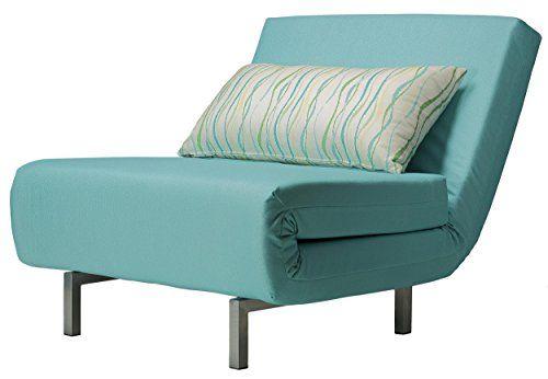 Cortesi Home Savion Convertible Accent Chair Bed, Aqua Blue Cortesi Home http://smile.amazon.com/dp/B00DUO3MA8/ref=cm_sw_r_pi_dp_ul9pub0K5S1GT