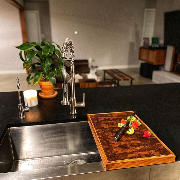 matte black paperstone countertop in 2020 diy kitchen countertops kitchen decor on kitchen decor black countertop id=97689