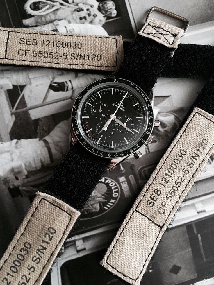 20mm Velcro NASA Strap for Omega Speedmaster