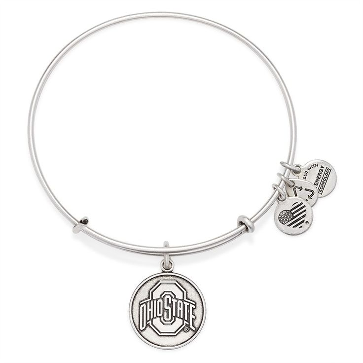ohio state logo charm bangle alex and ani