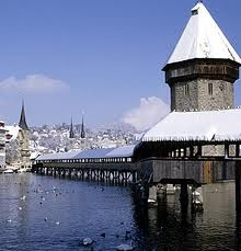 Luzern - Heaven. Never been there in the winter though :(