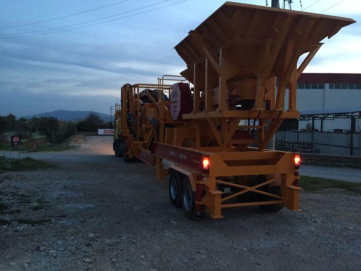 Sabit Kırma Eleme Tesisi 350 T/s Krom - General Makina | Mobil Konkasör | Satılık Konkasör Tesisi| Titreşimli Elek | Taş Kırma Eleme Tesisi