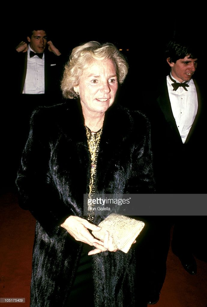 Ethel Kennedy, Michael Kennedy & Jeff Rhune during 1984 - Kennedy Center…