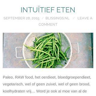 Intuitief eten, wat is het en waarom?