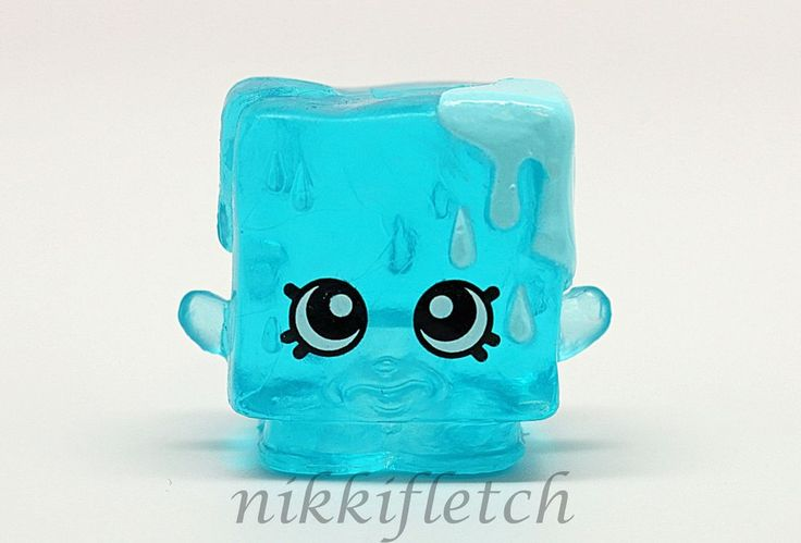 Shopkins Season 1 #1-132 Blue Cool Cube Special Edition Frozen