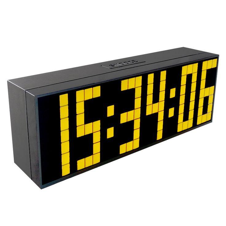 CH KOSDA LED Multifunction Digital Countdown Timer Large Wall LED Clock Table Wall Desk Alarm Clock Home Decor Alarm Wall Clock