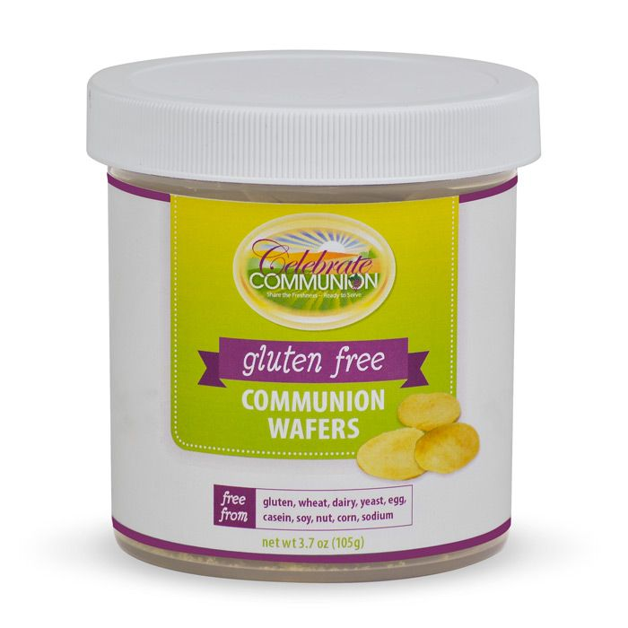 "Gluten Free Communion Wafers   -  I've just been ""skipping"" this part of communion.  Think I'll get these and keep them in my purse  :-): Free Communion, 1 4 Inch, Free Wafer, Communion Waferscontain, Reseal Jars, In My Pur, Gluten Free, 130 Wafer, Free Recipes"