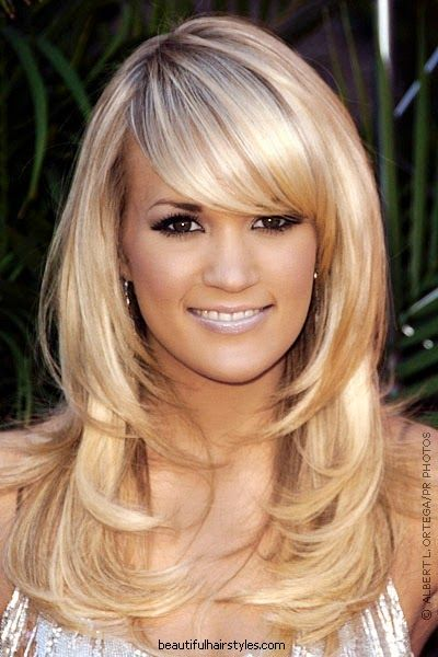 Hairstyles with Layers and Bangs to Draw Attention to Your Eyes