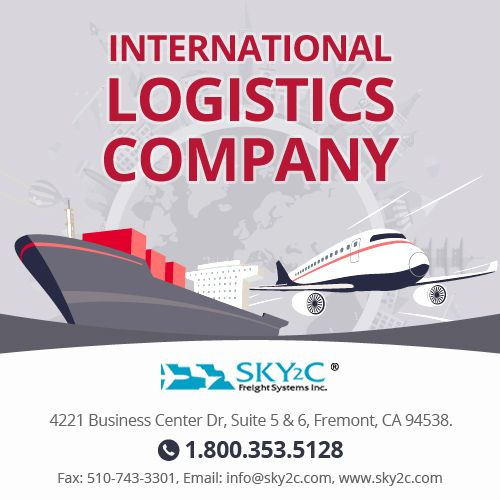 Sky2C Freight Systems is one of the reputed International logistic company none other to compare on rates and on customer service.