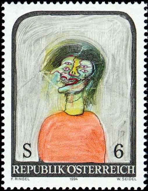 Sonderpostmarkenserie 1994, Moderne Kunst in Österreich, © Österreichische Post