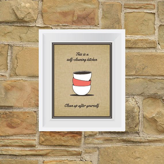 Clean Office Kitchen Signs: 9 Best Clean Up After Yourself Images On Pinterest