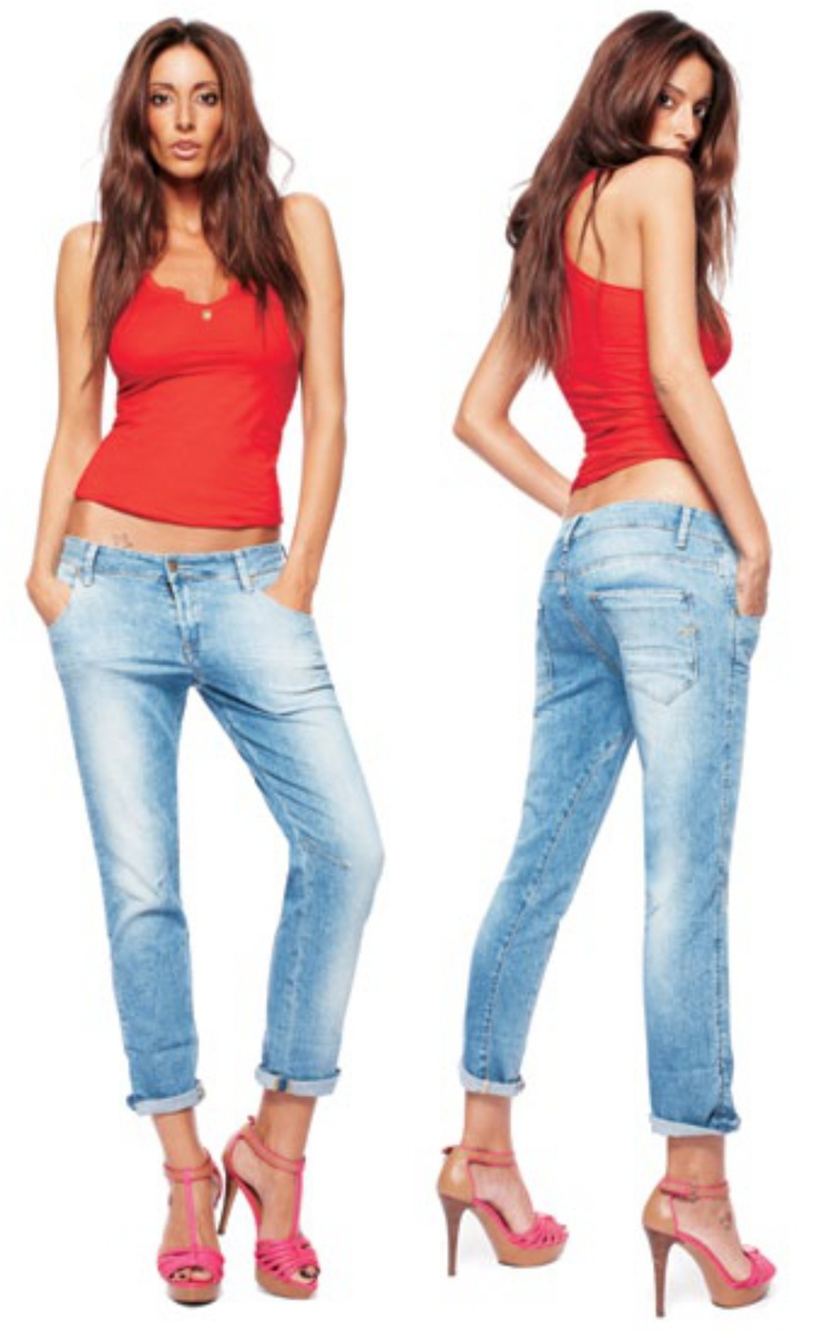 Tank top TIREY J545 0078 Jeans CONNY D42 E97 1652
