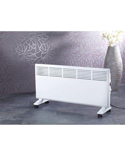 Faites face au grand froid ou pour les périodes tardives/précoces de froid avec ce radiateur d'appoint mobile avec déclenchement automatique.