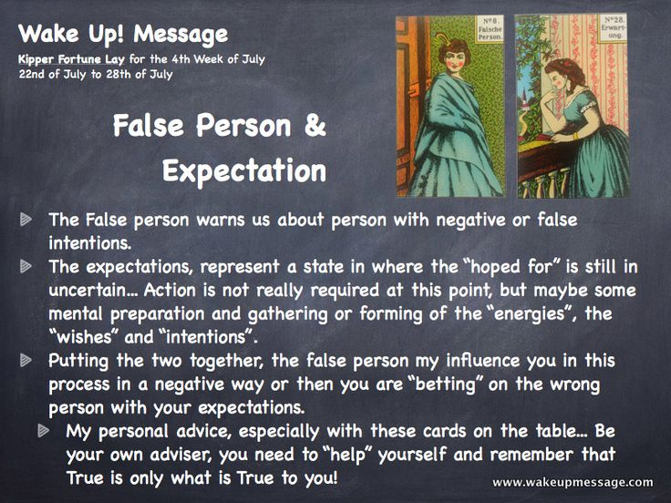 "Kipper Fortune Lay for the 4th Week of July - 22nd of July to 28th of July ""The False person warns us about person with negative or false intentions....."""