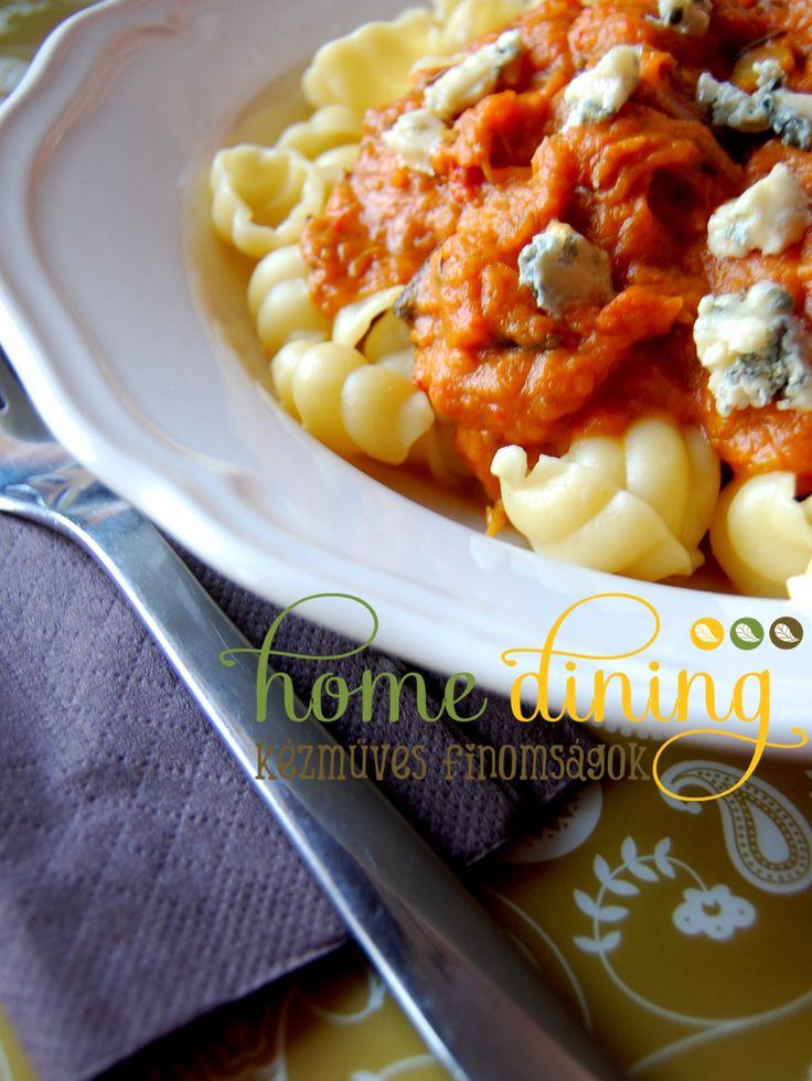 Pumpkin pasta sauce HomeDining home-made pure delicacies facebook.com/homedining info at budapesthomedining dot com