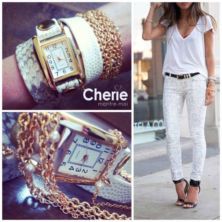 #Modèle/Style : Monaco  #Chérie, Montre-moi  #Montres/Watches
