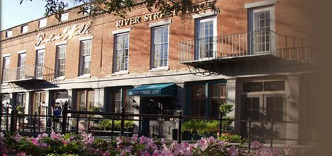 River Street Inn Savanah GA.  I highly recommend this beautiful, historic Inn in the heart of old Savannah.  So beautiful, great southern hospitality, and the price was very reasonable.