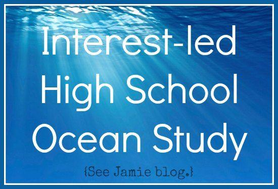 Homeschool High School Curriculum {Ocean Study} - See Jamie blog
