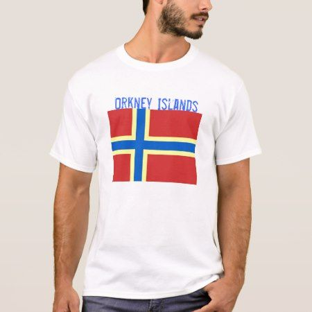 Orkney Islands Flag T-shirt - tap, personalize, buy right now!