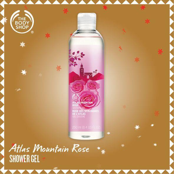 Atlas Mountain Rose Shower Gel
