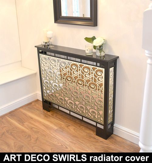 Cubic Br Mirror Radiator Cover In Satin Black With Marble Top The Highest Quality Covers Antique Laser Cut Panels For Home Or