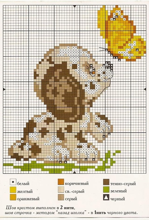 This isn't cross stitching but i couldn't help myself its too cute!!