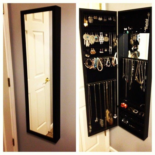 Espelho e porta joias