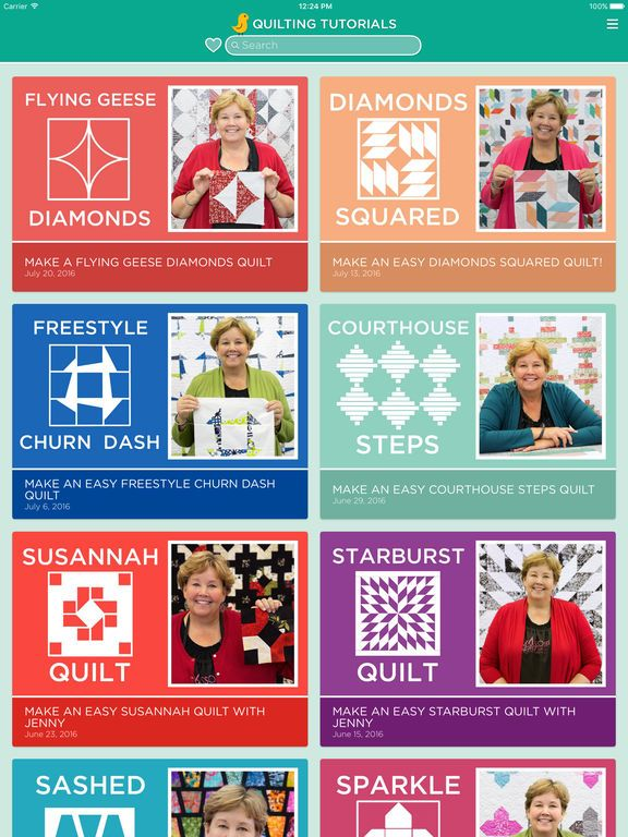 Quilting Tutorials by Missouri Star Quilt Company on the App Store