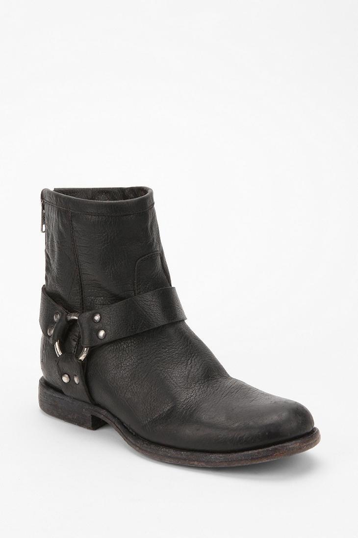 Frye Phillip Short Harness Boot