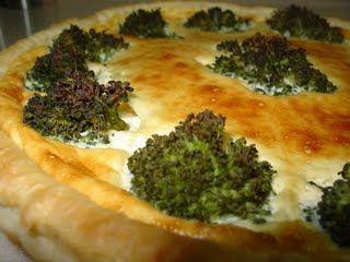 Torta cremosa de brócolis da mih | Acompanhamentos > Brócolis | Receitas Gshow