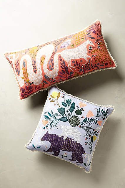 Saga Pillow - anthropologie.com: