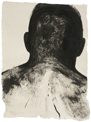 Elina Merenmies, Sailor, 2006, ink on paper