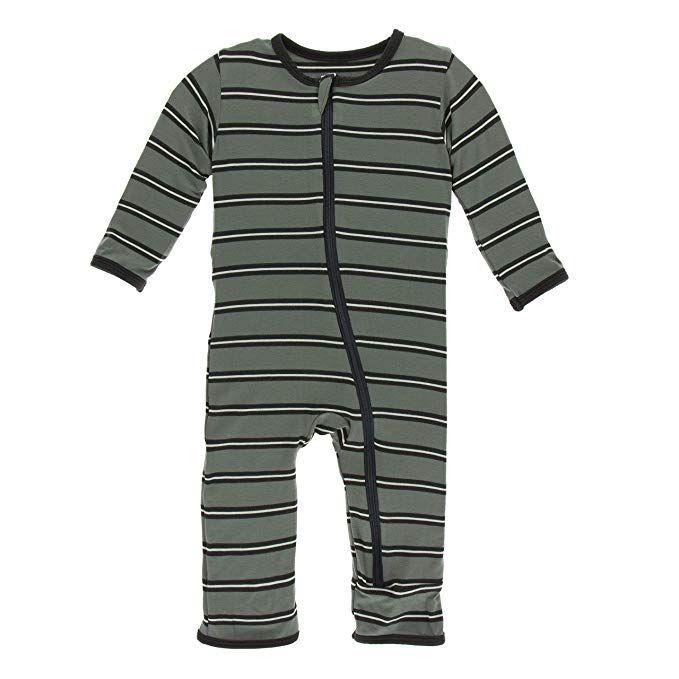 Kickee Pants Little Boys Long Sleeve Piece Print Double Layer Tee