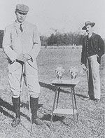 A photo of 1900 Olympic Golf Men's Gold Medal Winner Charles Sands.