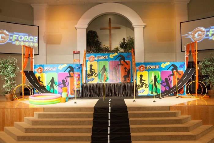 Pin By Cokesbury Vbs On G Force Decorations G Force Vbs
