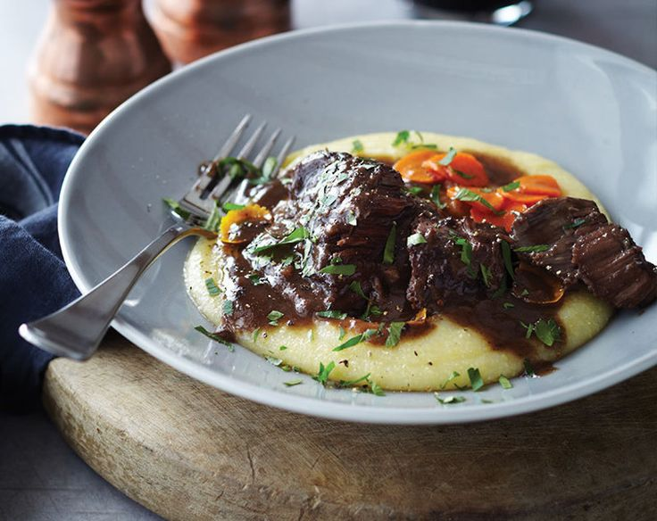 Slow-cooked Beef Cheeks
