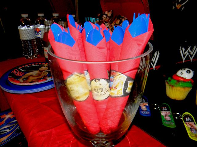 Wrestling Birthday Party Ideas | Photo 1 of 20 | Catch My Party