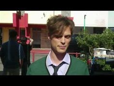 "Matthew Gray Gubler: Why Shemar Moore calls him ""Pretty Ricky"""